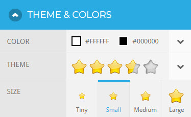 Rating Widget for Squarespace